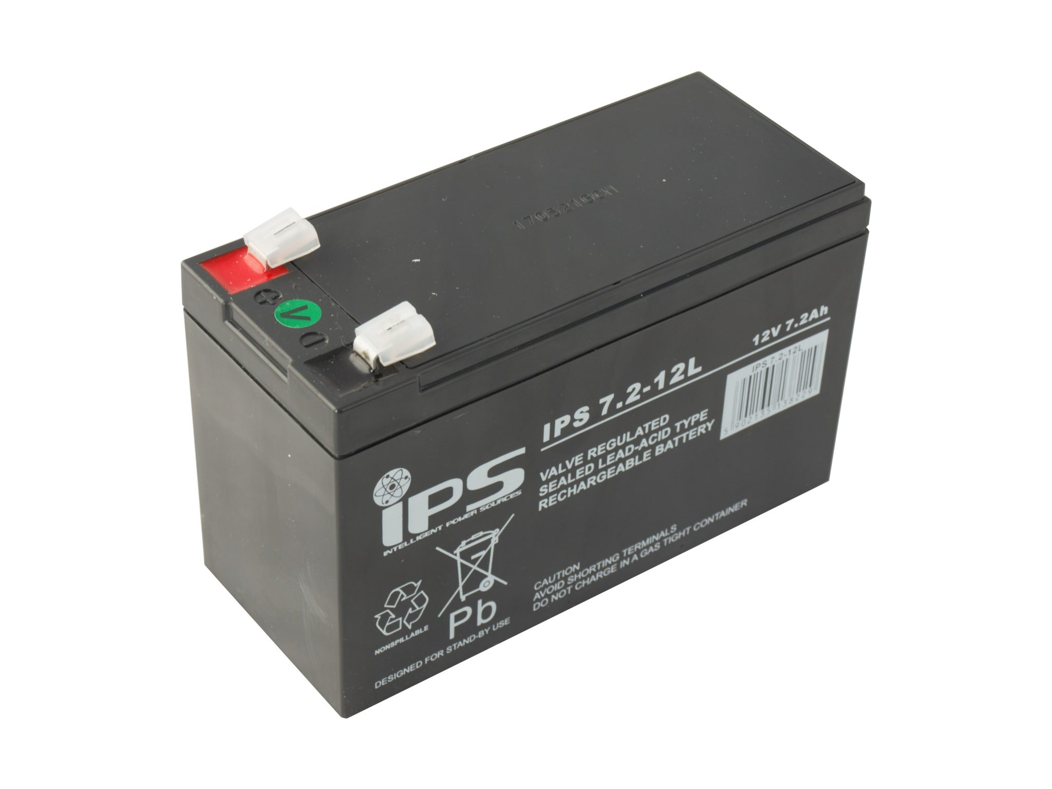 IPS Akumulator AGM 12V 7,2Ah IPS 7.2-12L